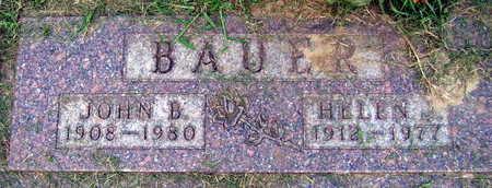 BAUER, HELEN J. - Linn County, Iowa | HELEN J. BAUER