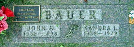 BAUER, JOHN N. - Linn County, Iowa | JOHN N. BAUER