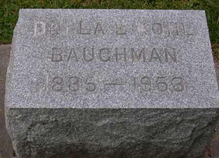 KOHL BAUGHMAN, DELLA E. - Linn County, Iowa | DELLA E. KOHL BAUGHMAN