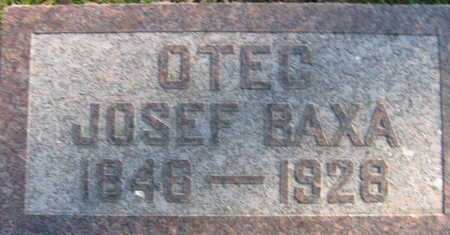 BAXA, JOSEF - Linn County, Iowa | JOSEF BAXA
