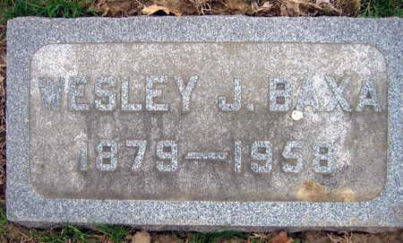 BAXA, WESLEY J. - Linn County, Iowa | WESLEY J. BAXA