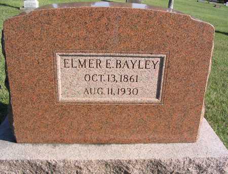 BAYLEY, ELMER E. - Linn County, Iowa | ELMER E. BAYLEY