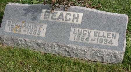 BEACH, LUCY ELLEN - Linn County, Iowa | LUCY ELLEN BEACH