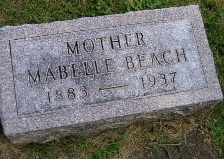 BEACH, MABELLE - Linn County, Iowa | MABELLE BEACH