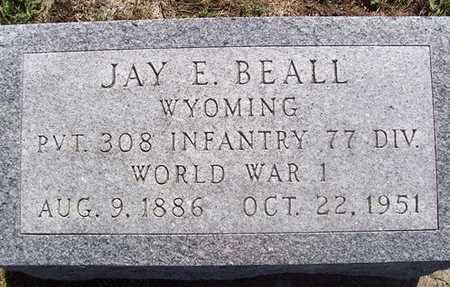 BEALL, JAY E. - Linn County, Iowa   JAY E. BEALL