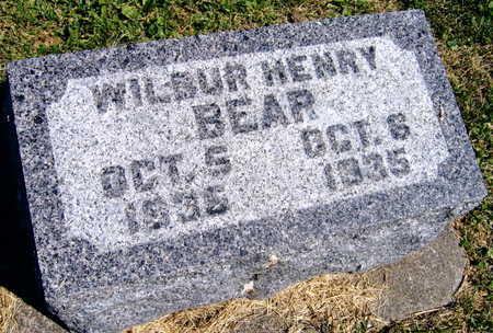BEAR, WILBUR HENRY - Linn County, Iowa | WILBUR HENRY BEAR
