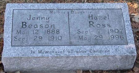 ROSS, HAZEL - Linn County, Iowa | HAZEL ROSS