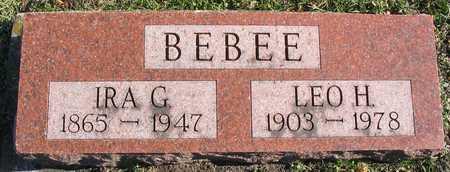 BEBEE, IRA G. - Linn County, Iowa | IRA G. BEBEE