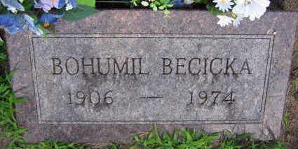 BECICKA, BOHUMIL - Linn County, Iowa | BOHUMIL BECICKA