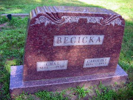 BECICKA, CHAS - Linn County, Iowa | CHAS BECICKA