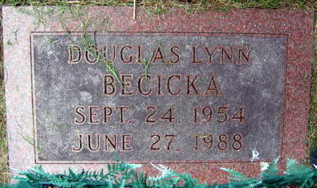 BECICKA, DOUGLAS LYNN - Linn County, Iowa   DOUGLAS LYNN BECICKA