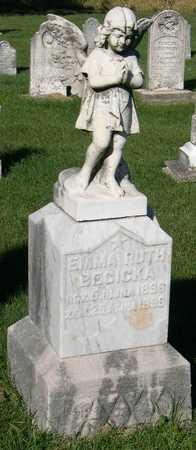 BECICKA, EMMA RUTH - Linn County, Iowa   EMMA RUTH BECICKA