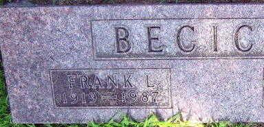 BECICKA, FRANK L. - Linn County, Iowa | FRANK L. BECICKA