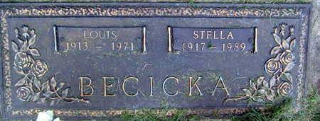 BECICKA, LOUIS - Linn County, Iowa   LOUIS BECICKA