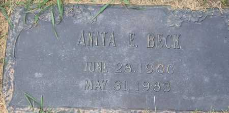 BECK, ANITA E - Linn County, Iowa | ANITA E BECK