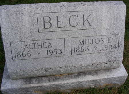 BECK, ALTHEA - Linn County, Iowa | ALTHEA BECK