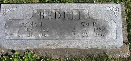 BEDELL, WM. P. - Linn County, Iowa | WM. P. BEDELL