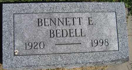 BEDELL, BENNETT E. - Linn County, Iowa   BENNETT E. BEDELL