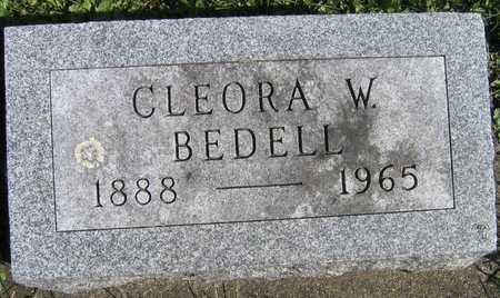 BEDELL, CLEORA W. - Linn County, Iowa | CLEORA W. BEDELL
