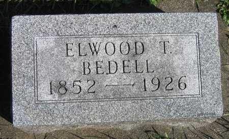 BEDELL, ELWOOD T. - Linn County, Iowa | ELWOOD T. BEDELL