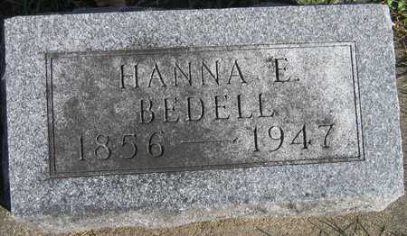 BEDELL, HANNA E. - Linn County, Iowa | HANNA E. BEDELL