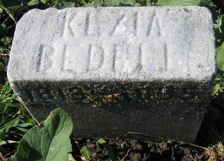BEDELL, KEZIAH - Linn County, Iowa | KEZIAH BEDELL