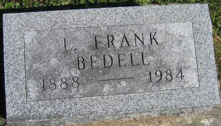 BEDELL, L. FRANK - Linn County, Iowa | L. FRANK BEDELL