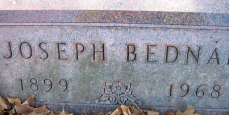 BEDNAR, JOSEPH - Linn County, Iowa   JOSEPH BEDNAR