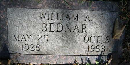 BEDNAR, WILLIAM A. - Linn County, Iowa | WILLIAM A. BEDNAR