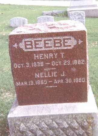 BEEBE, NELLIE J. - Linn County, Iowa | NELLIE J. BEEBE