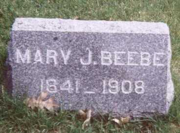 BEEBE, MARY J. - Linn County, Iowa | MARY J. BEEBE
