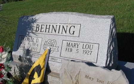 BEHNING, DARRELL D. - Linn County, Iowa | DARRELL D. BEHNING