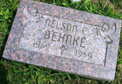 BEHNKE, NELSON C. - Linn County, Iowa | NELSON C. BEHNKE