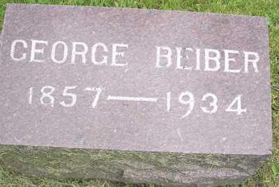 BEIBER, GEORGE - Linn County, Iowa | GEORGE BEIBER