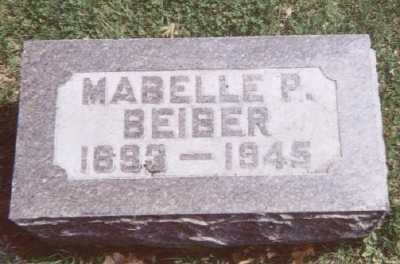 BEIBER, MABELLE P. - Linn County, Iowa | MABELLE P. BEIBER