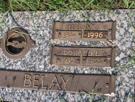 BELAY, MIRIAM A. - Linn County, Iowa | MIRIAM A. BELAY