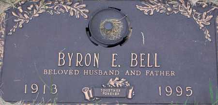 BELL, BYRON E - Linn County, Iowa   BYRON E BELL