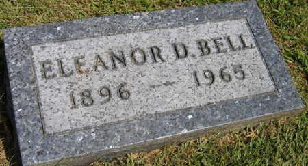 BELL, ELEANOR D. - Linn County, Iowa | ELEANOR D. BELL