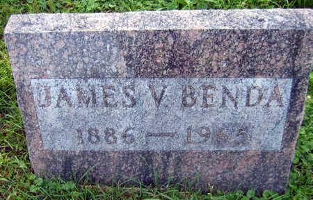 BENDA, JAMES V. - Linn County, Iowa   JAMES V. BENDA