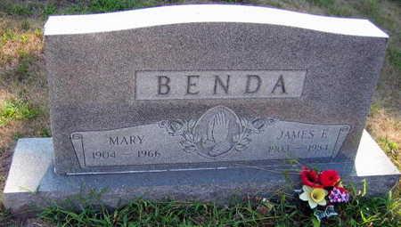 BENDA, MARY - Linn County, Iowa   MARY BENDA