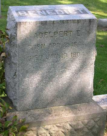 BENEDICT, ADELBERT E. - Linn County, Iowa   ADELBERT E. BENEDICT