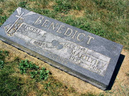 BENEDICT, MARILYN V. - Linn County, Iowa | MARILYN V. BENEDICT