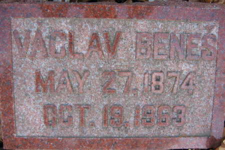 BENES, VACLAV - Linn County, Iowa   VACLAV BENES