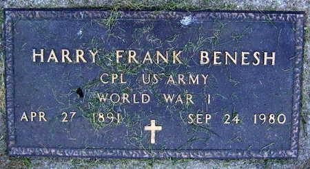 BENESH, HARRY FRANK - Linn County, Iowa | HARRY FRANK BENESH