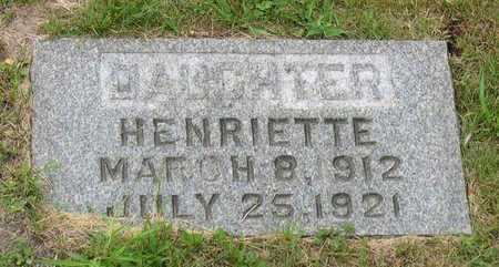 BENESH, HENRIETTE - Linn County, Iowa | HENRIETTE BENESH