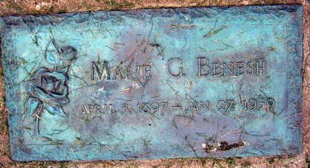 BENESH, MARIE G. - Linn County, Iowa | MARIE G. BENESH