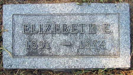 BENISH, ELIZEBETH E. - Linn County, Iowa | ELIZEBETH E. BENISH