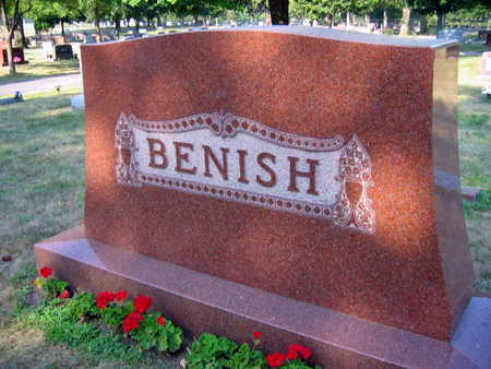 BENISH, FAMILY STONE - Linn County, Iowa | FAMILY STONE BENISH