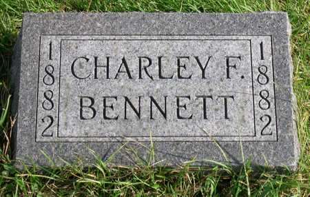 BENNETT, CHARLEY F. - Linn County, Iowa   CHARLEY F. BENNETT