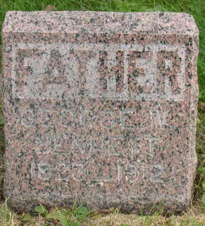 BENNETT, GEORGE W. - Linn County, Iowa   GEORGE W. BENNETT